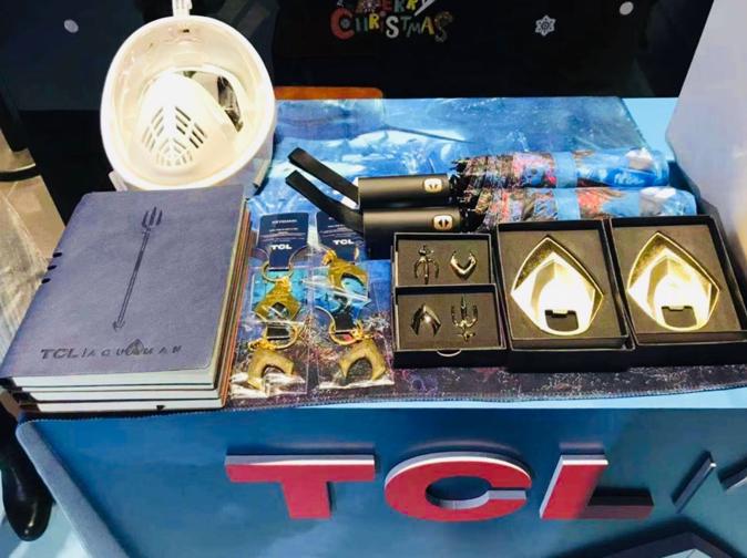 TCL携手《海王》,打造年度最佳超能力CP